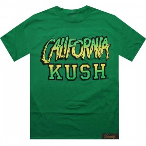 Sneaktip California Kush Tee - 420 Pack (kelly)