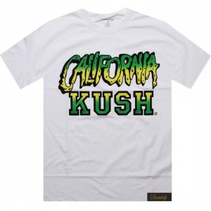 Sneaktip California Kush Tee - 420 Pack (white)