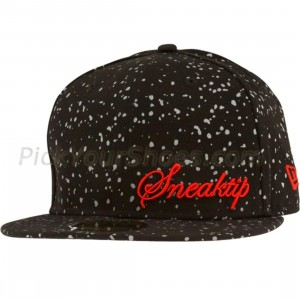 Sneaktip Speckle New Era Fitted Cap (black)