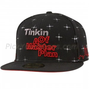 Sneaktip Tinking of a Master Plan New Era Fitted Cap (black)