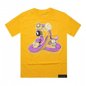 Sneaktip Mamba 5 Rings Tee (gold) - PYS.com Exclusive