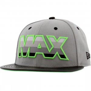 Sneaktip Max 95 New Era Fitted Cap (grey / neon)