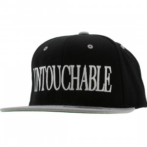Sneaktip The Untouchables Starter Snapback Cap (black / grey)