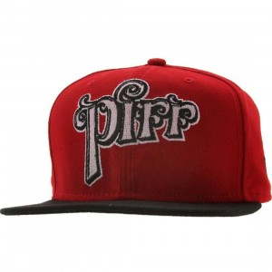 Sneaktip Piff New Era Snapback Cap - 420 Pack (red)