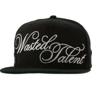 Sneaktip Wasted Talent New Era Snapback Cap (black)