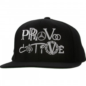 Sneaktip Provocative Snapback Cap (black)