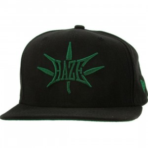 Sneaktip Haze New Era Snapback Cap - 420 Pack (black)