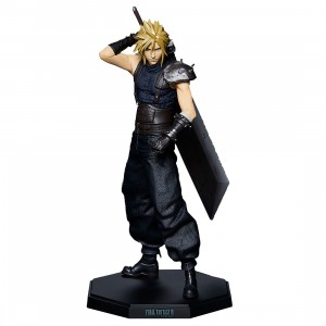 PREORDER - Square Enix Final Fantasy VII Remake Statuette Cloud Strife Statue (navy)