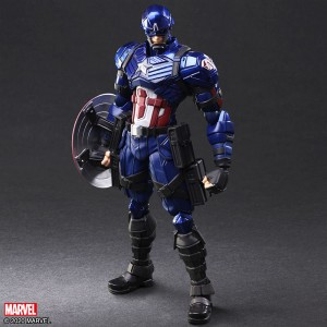 PREORDER - Square Enix Marvel Universe Variant Bring Arts Captain America Figure (navy)