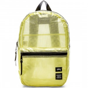 Stussy x Herschel Supply Co Dawson Backpack - Clear Tarp Collab (white / clear)