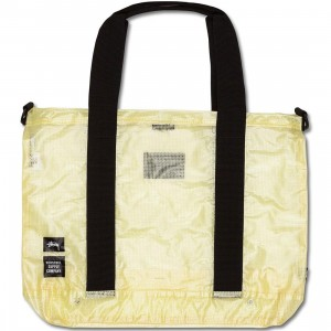 Stussy x Herschel Supply Co Tote Bag - Clear Tarp Collab (white / clear)