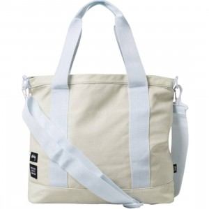 Stussy Tote - Heavy Canvas (white)