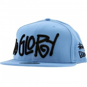 Stussy 3 Gs New Era Fitted Cap (sky blue)