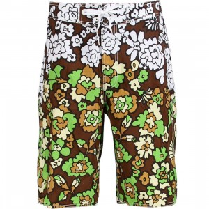Stussy 60s Swim Trunk (brown)