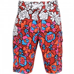 Stussy 60s Swim Trunk (red)
