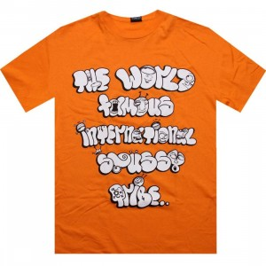 Stussy Bubble Tribe Tee (orange)
