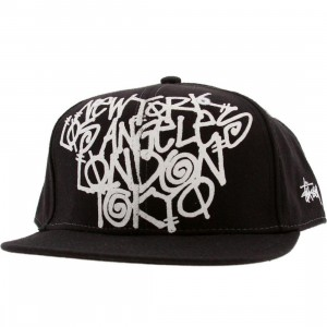 Stussy Cities Cap (black)