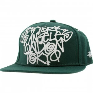 Stussy Cities Cap (green)