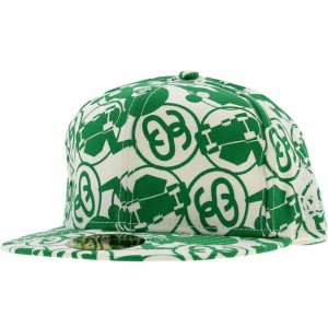 Stussy Cyco New Era Fitted Cap (green)