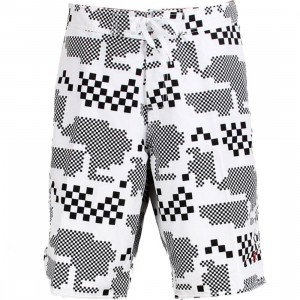 Stussy Digi Board Swim Trunk (white)