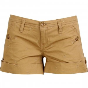 Stussy Womens Flash Shorty Shorts (brown)