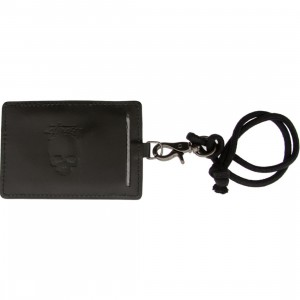 Stussy Hypalon Tiger Luggage Tag (black)