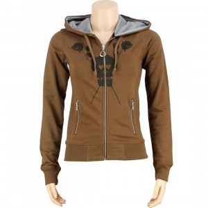 Stussy Womens Destiny Hoody (brown)