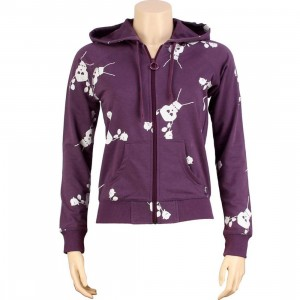 Stussy Womens Skullacon Hoody (purple)