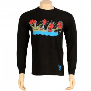 Stussy Octopus Long Sleeve Tee (black)