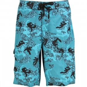 Stussy Over Swim Trunk (blue)