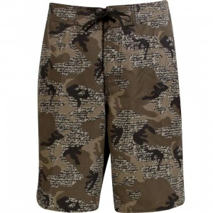 Stussy Over Swim Trunk (brown)