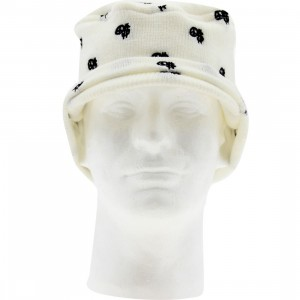 Stussy Peace And Prosperity Dot Beanie Cap (white)