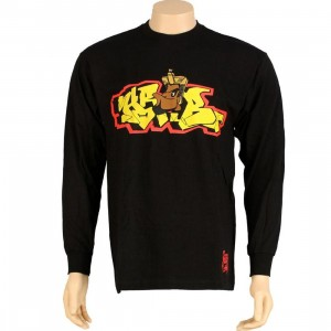 Stussy Pharoah Long Sleeve Tee (black)