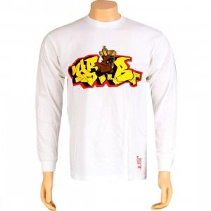 Stussy Pharoah Long Sleeve Tee (white)