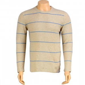 Stussy Single File Cashmere Sweater (tan)