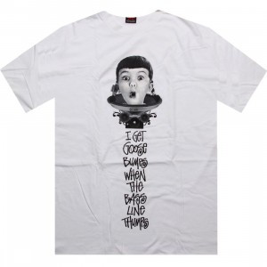 Stussy Surprise Tee (white)