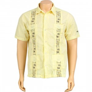 Stussy Thorn Short Sleeve Shirt (yellow)