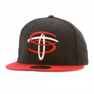 Sneaktip ST Lock Up New Era Fitted Cap (black)