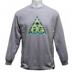 Sneaktip Tip Long Sleeve Tee (heather grey)