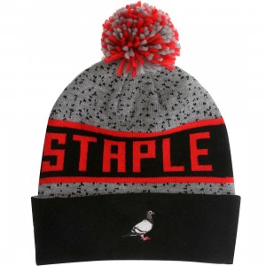 Staple Wilkins Beanie (gray / heather gray)