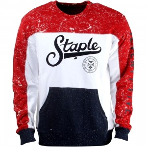 Staple Maltese Crewneck Sweater (white)