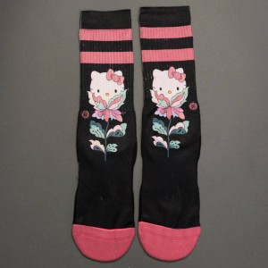 Stance x Hello Kitty Women Flower Friend Socks (black)