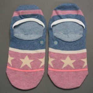 Stance Women Firework Socks (blue)