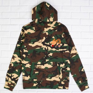 Billionaire Boys Club Men BB Ghost Hoody (camo / starfish)