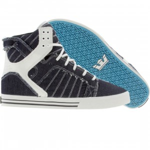 Supra Skytop (navy denim)