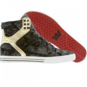 Supra Skytop NS (distressed black / gold)