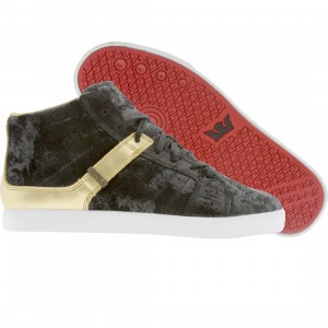 Supra Indy NS (distressed black / gold)