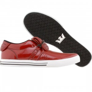 Supra Cuban NS (red patent / red perf)
