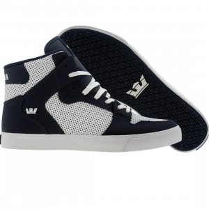 Supra Vaider (white / navy soft action leather)