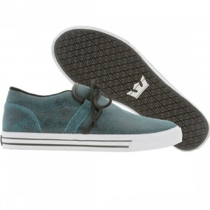 Supra Cuban (black / blue crackle)